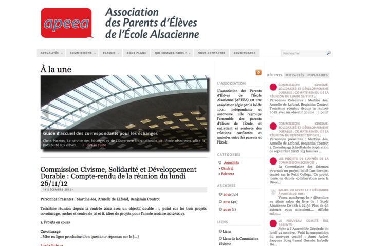 Association des Parents d'Élèves de l'École Alsacienne