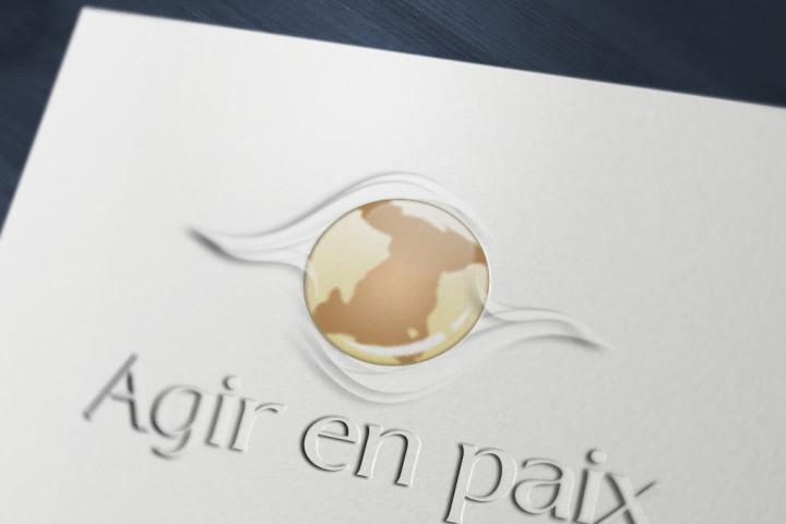 Logo Agir en paix